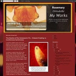 RDPARASITES BLOGSPOT 28/08/13 The Decline of the Screwworm Fly – Edward Knipling vs Cochliomyia hominivorax