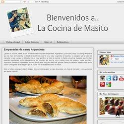 La Cocina de Masito: Empanadas de carne Argentinas