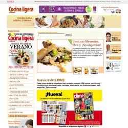 Cocina Ligera. La web de la cocina sana