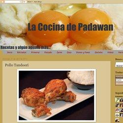 La cocina de Padawan: Pollo Tandoori