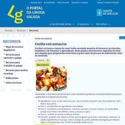 Cociña con nenos/as - O Portal da Lingua Galega