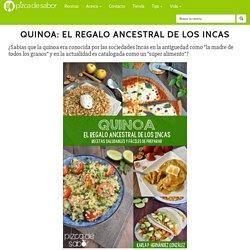 """Libro de cocina """"Quinoa: El Regalo Ancestral de los Incas"""""""