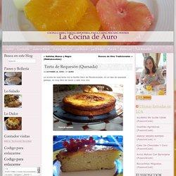 La Cocina de Auro – Tarta de Requesón (Quesada)