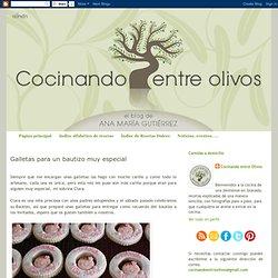 Cocinando entre Olivos: Galletas para un bautizo muy especial