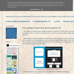 CocinandoClases: #UN CATÁLOGO COLABORATIVO DE HERRAMIENTAS TIC...