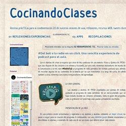 CocinandoClases: 02 HERRAMIENTAS TIC