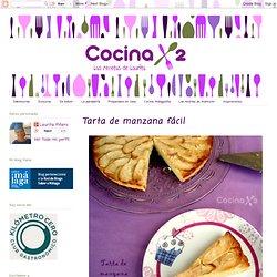 Cocinax2. Las recetas de Laurita.: Tarta de manzana fácil