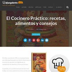 El Cocinero Práctico: recetas, alimentos y consejos