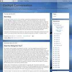 Cockpit Conversation