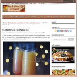 Cocktail Mimosa sans alcool