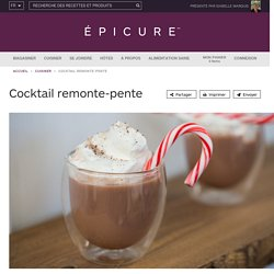 Cocktail remonte-pente