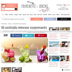 10 cocktails minceur surprenants - Le cocktail coupe-faim