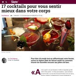 17 cocktails pour vous sentir mieux dans votre corps