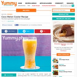 Coco Melon Cooler Recipe