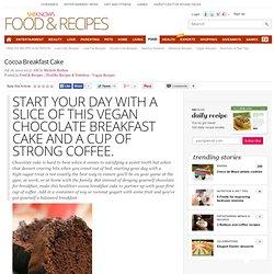 Cocoa Breakfast Cake