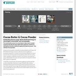 Cocoa Butter & Cocoa Powder