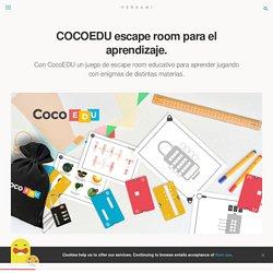 COCOEDU escape room para el aprendizaje. — Verkami