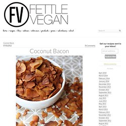 Coconut Bacon - Fettle Vegan