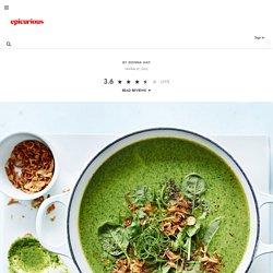 Thai Coconut, Broccoli and Coriander Soup recipe