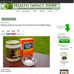 Baking Soda & Coconut Oil Cleanser for Problem Skin