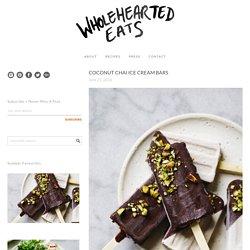 COCONUT CHAI ICE CREAM BARS - Wholehearted Eats