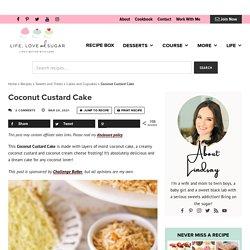 Coconut Custard Cake
