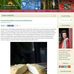 Coconut Flour Rolls: Grain-Free and Delicious