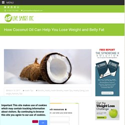 Natural Products To Lose Belly Fat