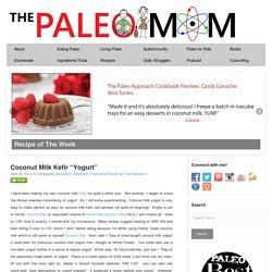 "Coconut Milk Kefir ""Yogurt"" - The Paleo Mom"