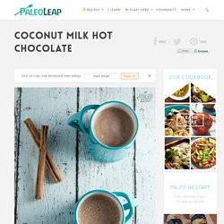 Coconut Milk Hot Chocolate