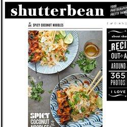 Spicy Coconut Noodles - Shutterbean