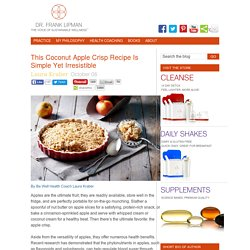 This Coconut Apple Crisp Recipe Is Simple Yet Irresistible