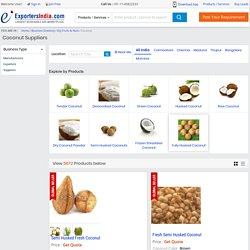 Wholesale Coconut Business Classifieds Suppliers