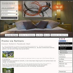Cocoon Hotels - Promo via Partners