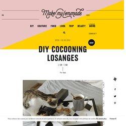 DIY COCOONING LOSANGES