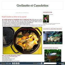 Poulet Cocotte au Citron et au Laurier
