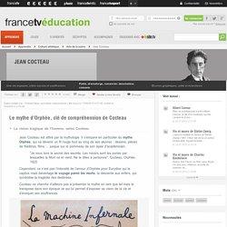 Jean Cocteau - Le mythe d'Orphée, clé de compréhension de Cocteau -...