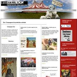 """""""Code animal: les animaux dans les zoos"""