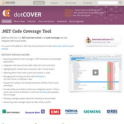 Code coverage tool for .NET
