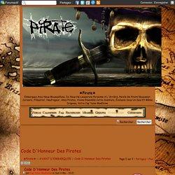 Code D'Honneur Des Pirates