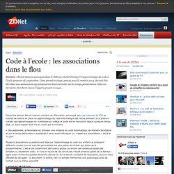 Code à l'ecole : les associations dans le flou