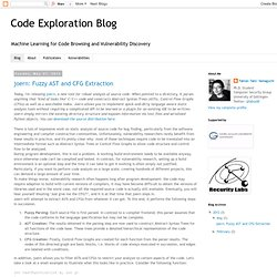 Code Exploration Blog