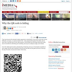 Why the QR code is failing