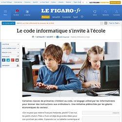 Le code informatique s'invite à l'école