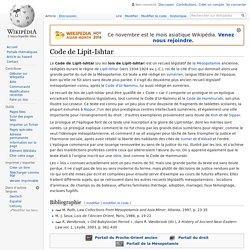 Code de Lipit-Ishtar