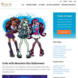 Code with Monsters this Halloween!