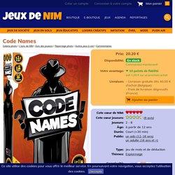 Code Names: jeu de société chez Jeux de NIM