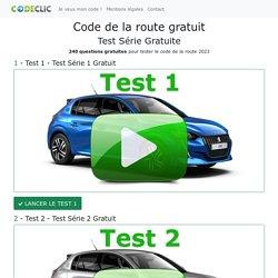 Code de la Route Gratuit ▷ Tests et Cours pour le Code 2020