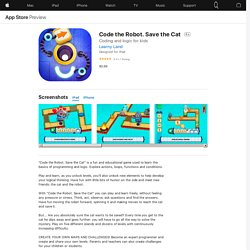 Code the Robot. Save the Cat on the AppStore