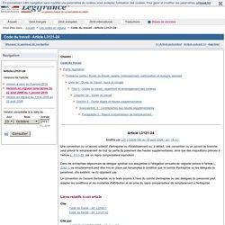 Code du travail - Article L3121-24